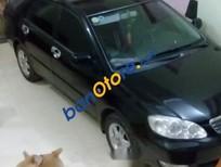 Cần bán xe Toyota Corolla altis sản xuất 2004, màu đen
