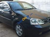 Bán Daewoo Lacetti MT năm sản xuất 2006, màu đen, nhập khẩu