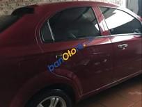 Cần bán lại xe Chevrolet Aveo sản xuất năm 2015, màu đỏ