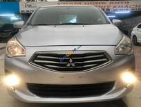 Cần bán gấp Mitsubishi Attrage năm sản xuất 2016, màu bạc, nhập khẩu Thái số sàn giá cạnh tranh
