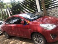 Bán xe Mitsubishi Attrage CVT sản xuất năm 2016, màu đỏ, nhập khẩu nguyên chiếc giá cạnh tranh