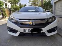 Bán Honda Civic 1.8 E sản xuất năm 2017, màu trắng, nhập khẩu xe gia đình, giá chỉ 740 triệu