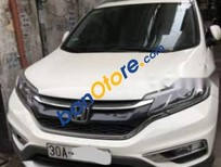 Bán Honda CR V 2.4 đời 2015, màu trắng, xe đẹp, nguyên bản, lốp còn theo xe