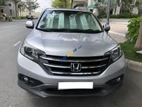 Cần bán Honda CR V 2.4 sản xuất 2014, màu bạc