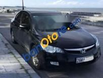Cần bán xe Honda Civic 2.0 AT năm sản xuất 2008, màu đen