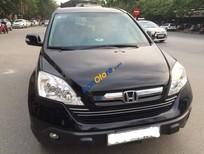 Cần bán gấp Honda CR V 2.4AT năm 2009, màu đen