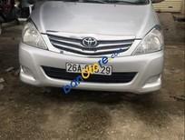Cần bán xe cũ Toyota Innova 2008, màu bạc