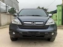Bán xe Honda CR V 2.0AT 2009, màu xám, nhập khẩu