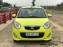 Bán Kia Morning SLX năm sản xuất 2009, màu vàng, xe nhập