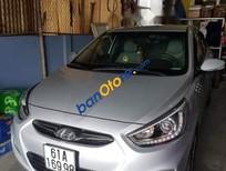 Bán xe Hyundai Accent Blue năm sản xuất 2014, màu bạc
