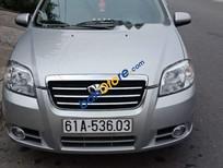 Bán xe Daewoo Gentra đời 2009, màu bạc
