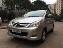 Xe Toyota Innova 2.0 G sản xuất 2009, màu bạc chính chủ