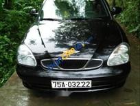 Bán Daewoo Nubira sản xuất năm 2003, màu đen, nhập khẩu nguyên chiếc còn mới