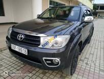 Bán Toyota Fortuner G năm 2010, màu đen, giá 630tr