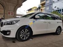 Bán Kia Sedona 2.2 AT DATH sản xuất 2016, màu trắng