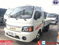 Xe tải nhẹ JAC thùng lửng các loại dòng EURO 4 , giá tốt