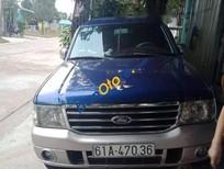Cần bán lại xe Ford Everest năm 2005, màu xanh lam, xe nhập