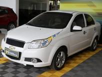 Cần bán Chevrolet Aveo 1.5MT sản xuất 2014, màu trắng, giá tốt