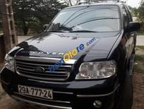 Cần bán gấp Ford Escape 2.3 sản xuất năm 2004, màu đen số tự động, giá tốt