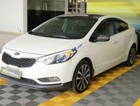 Bán xe Kia K3 1.6AT sản xuất năm 2014, màu trắng, giá 488tr