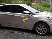 Cần bán xe Hyundai Accent 1.4AT năm 2014, màu bạc, nhập khẩu, 430 triệu