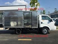Xe tải Kia K250 tải trọng 2490 kg hoặc 1490 kg thích hợp trong thành phố