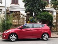 Cần bán Hyundai Accent Blue năm 2015, màu đỏ, nhập khẩu nguyên chiếc