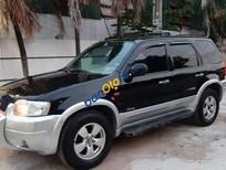 Cần bán Ford Escape sản xuất 2004, màu đen, xe nhập, giá 148tr