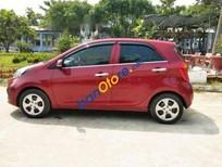 Cần bán Kia Morning MT sản xuất 2014, màu đỏ giá cạnh tranh