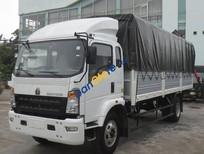 Bán xe tải 6 tấn, máy Howo Sinotruk, thùng dài 4m2 năm 2019, màu trắng
