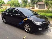 Cần bán gấp Honda Civic năm sản xuất 2007, màu đen