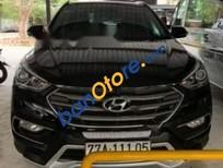 Cần bán lại xe Hyundai Santa Fe 2.4L 4WD sản xuất 2017, màu đen, xe nhập