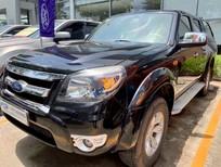 Cần bán Ford Ranger XLT năm 2010, màu đen, nhập khẩu nguyên chiếc số sàn