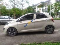 Bán xe Kia Morning 1.0AT năm 2011, màu kem (be), nhập khẩu, giá tốt
