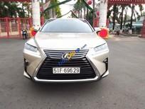 Cần bán Lexus RX 350 sản xuất năm 2017, màu vàng
