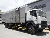 Bán xe tải Isuzu 14T5 thùng kín - FVM34WE4, thùng dài 7,66m