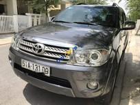 Cần bán gấp xe cũ Toyota Fortuner sản xuất năm 2011, màu xám