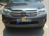 Bán Toyota Fortuner đời 2011, màu xám