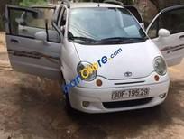 Bán gấp Daewoo Matiz SE năm 2007, màu trắng giá cạnh tranh