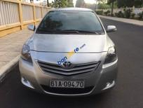Bán Toyota Vios MT năm sản xuất 2013, màu bạc, số sàn
