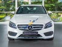 Bán Mercedes-Benz C300 AMG 2017, màu trắng, mới 99%