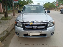 Bán Ford Ranger XLT 2.5 MT 4X4 2010, màu bạc, nhập khẩu, số sàn