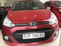 Cần bán xe Hyundai Grand i10 năm sản xuất 2016, màu đỏ, nhập khẩu