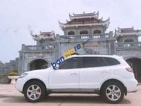 Xe Hyundai Santa Fe SLX năm sản xuất 2009, màu trắng