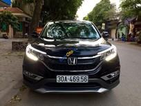 Cần bán Honda CR V 2.0 AT sản xuất 2015, màu đen