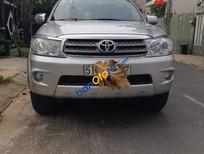 Cần bán lại xe Toyota Fortuner sản xuất năm 2011, màu bạc