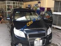 Cần bán xe Chevrolet Aveo AT năm sản xuất 2014, màu đen