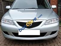 Cần bán Mazda 6 năm 2004, màu bạc số sàn