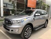 Bán ô tô Ford Everest Titanium 4x4 Biturbo năm sản xuất 2019, màu bạc, nhập khẩu