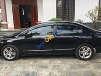 Cần bán xe Honda Civic 2.0AT sản xuất 2008, màu đen